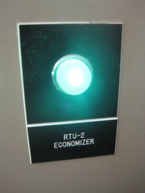 Header of economizer