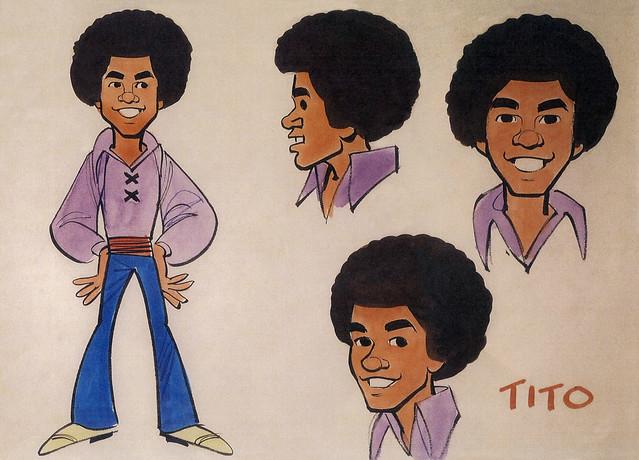 Tito Jackson Model Sheet