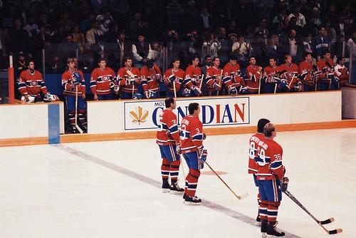 Hockey Montreal Canadiens September 1991