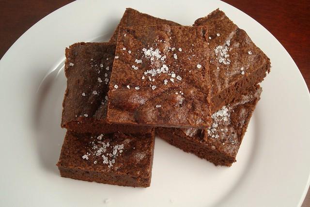 Salted Fudge Brownies | Flickr - Photo Sharing!