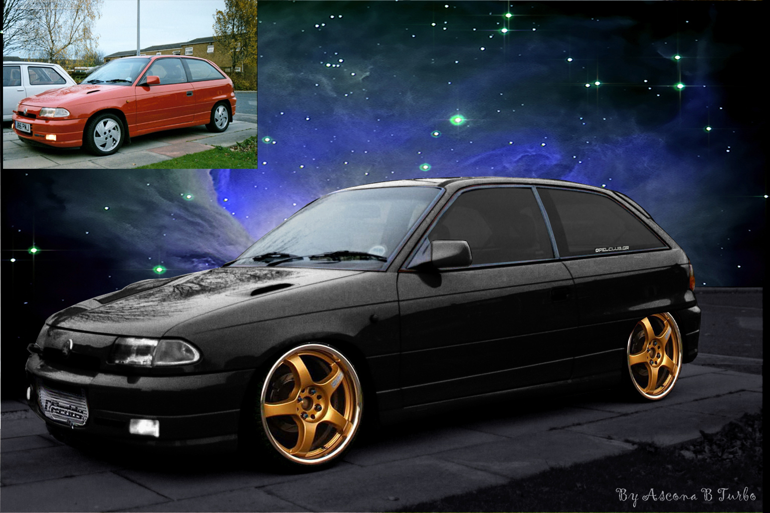 opel astra f gsi virtual tuning flickr photo sharing. Black Bedroom Furniture Sets. Home Design Ideas