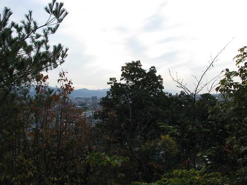 japan temple view path 日本 vue japon chemin ishite 坂道 石手寺 石手
