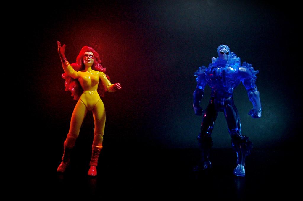 Firestar vs. Iceman (18/365)