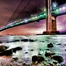 Verrazano - Narrows Bridge, in the rain
