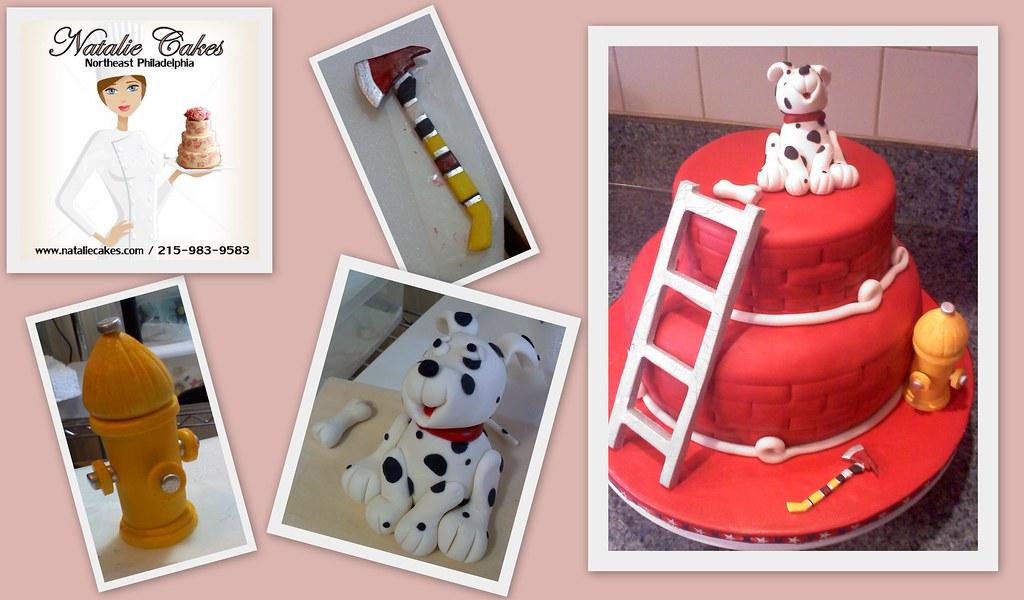 Firehouse Cake Birthday Natalie Cakes
