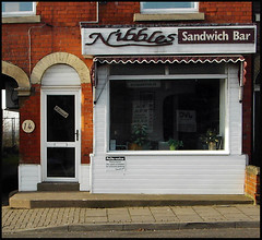 Gainsborough Shopfronts: Nibbles Sandwich Bar, Lea Road
