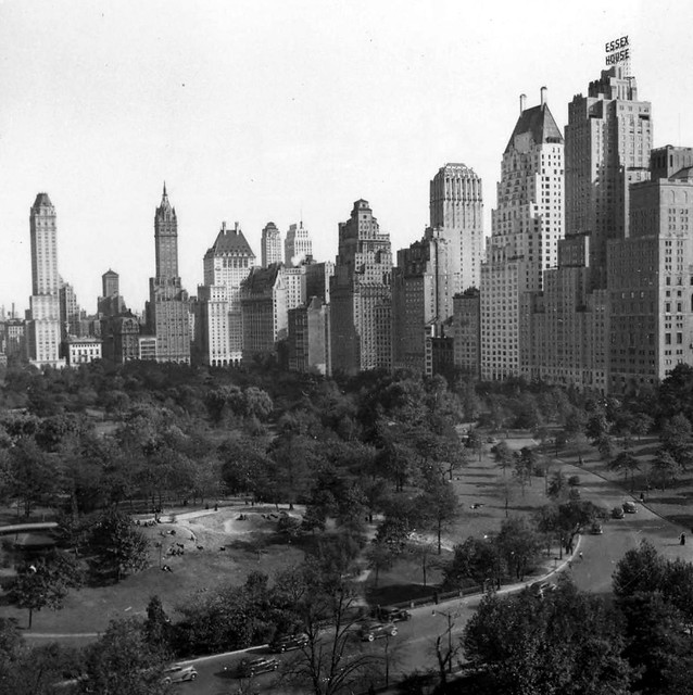 40 Central Park South Nyc: New York City Central Park Highrises 1930's