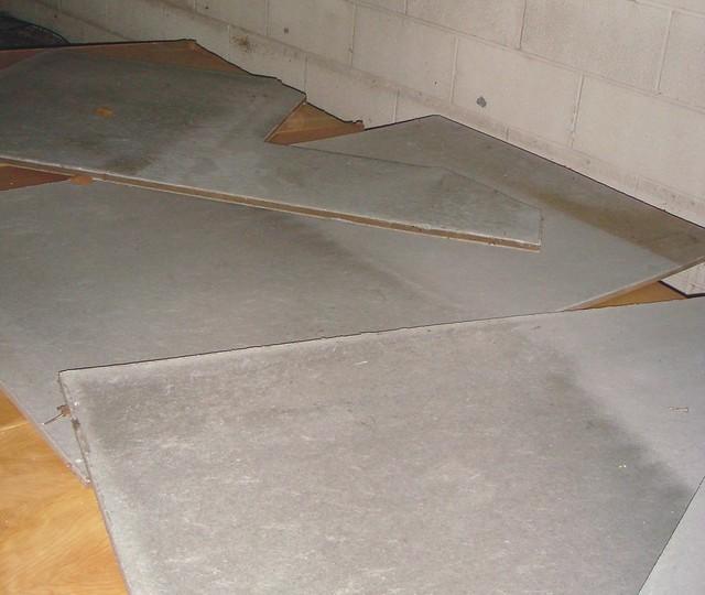 Asbestos Cement Clad Insulation Panels Flickr Photo