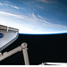 Endeavour and Earth's Horizon (NASA, International Space Station Science, 02/17/10)
