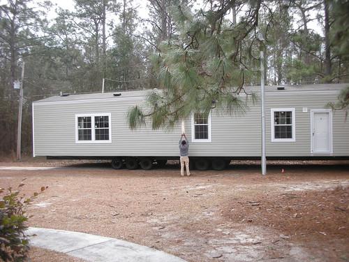 Mobile Home Moves In Next Door