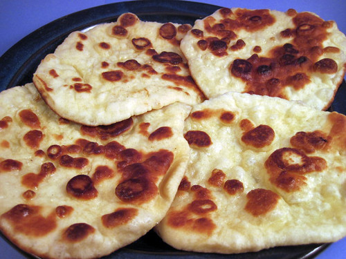 Naan bread for Ancient indian cuisine