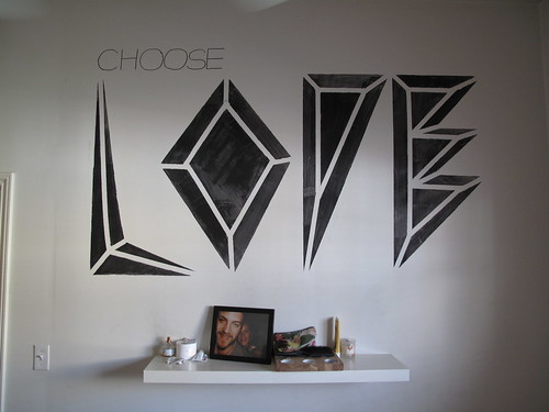 Choose Love Mural