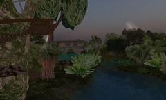 flower(0.0), screenshot(0.0), jungle(0.0), garden(1.0), landscape lighting(1.0), plant(1.0), yard(1.0), flora(1.0), landscaping(1.0), landscape(1.0), pond(1.0),