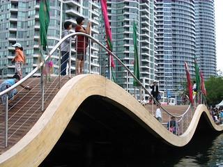 Image of Simcoe Wave Deck. toronto harbourfront condos simcoe queensquay wavedeck