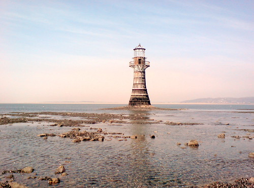Whiteford Sands lighthouse