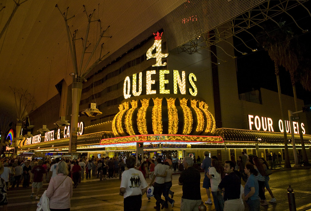 Four Queens Hotel and Casino in Downtown Las Vegas.