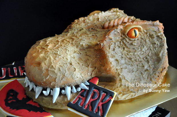 The Dinasour Cake by Sunny Yaw 1