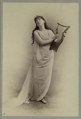 [Woman holding lyre.]