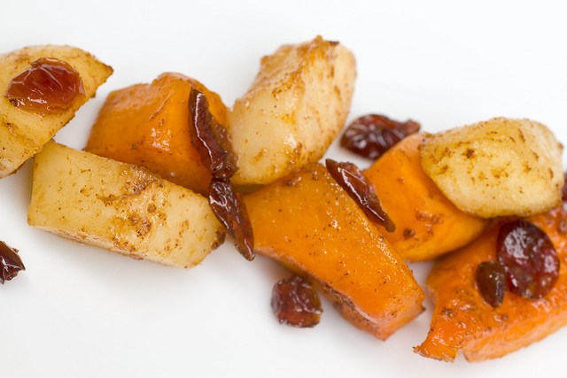 Roasted Butternut Squash, Bartlett Pears, and Dried Cranberries ...