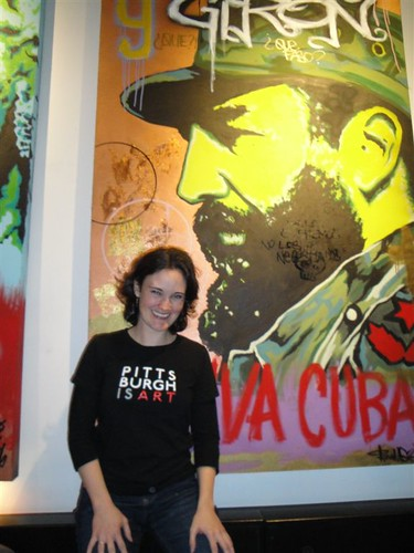 Tiffany Wilhelm at Cuban Revolution restaurant