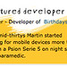 Symbian Horizon Featured Developer