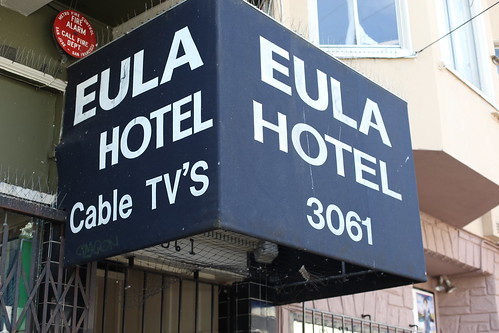 EULA Hotel photo from Flickr, CC-BY-NC-SA, by Jeroen Elfferich