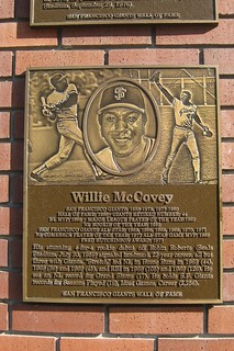 San Francisco: AT&T Park - San Francisco Giants Wall of Fame - Willie McCovey
