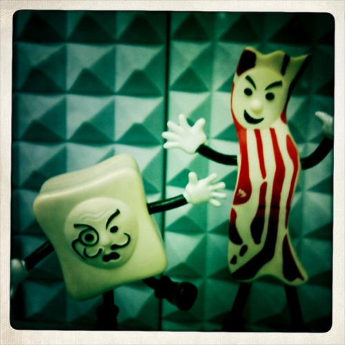 3/365 : Monsieur Tofu VS Mr Bacon