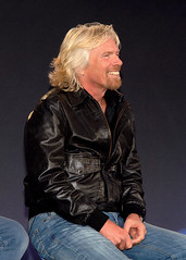 Sir Richard Branson. Credit Claire Brown