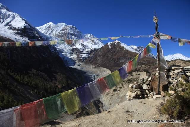 Prayer Flags - Annapurna Circuit Trek - Nepal