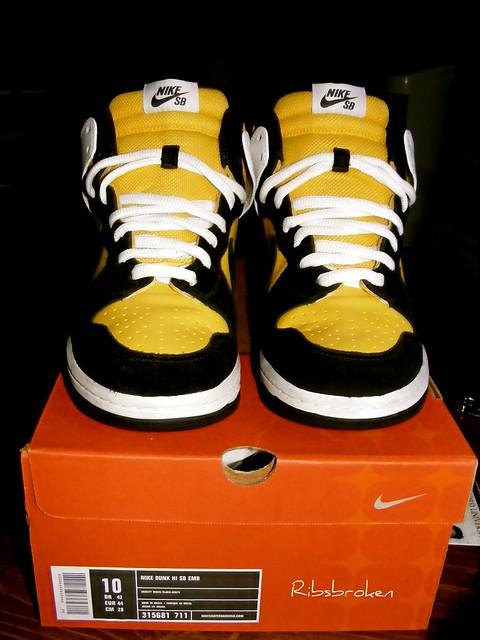 timeless design 6a4e7 39051 ... Nike Dunk SB EMB Bic High  by Jaysun Bourne
