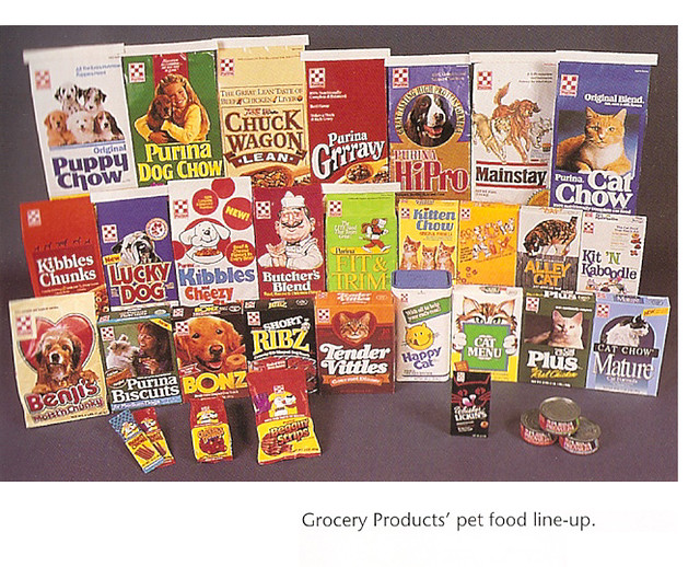 Old 1980's Ralston Pet Food Display