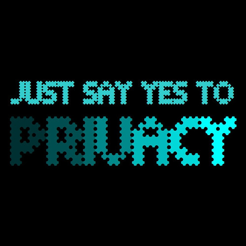 JUUST SAY YES TO PRIVACY