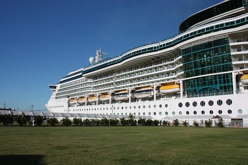 Radiance of the Seas docked at Puerto Vallarta