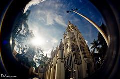 Lomo FishEye Igreja de Lourdes