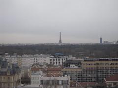 Vue sur Paris depuis Suresne