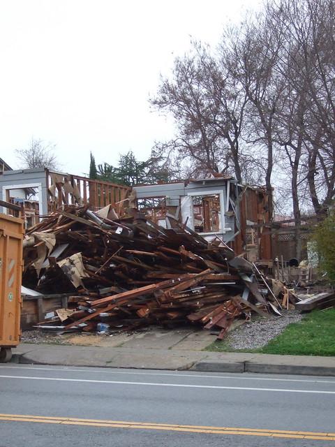 Demolition Scrap Wood Pile Flickr Photo Sharing