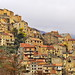 Corsica - HDR panorama of Corte in the morning clouds by FrenchLandscapes