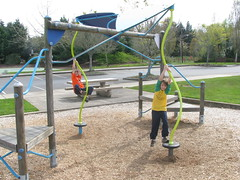 outdoor play equipment, play, recreation, outdoor recreation, city, public space, playground, park,