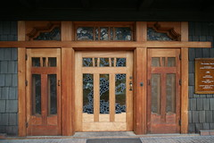 Gamble House Doors