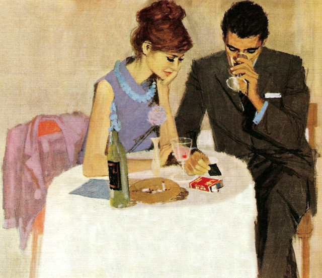 ETC INSPIRATION BLOG ART DESIGN HOME FOOD PAINTING RETRO COUPLE FEMININE Andy Virgil