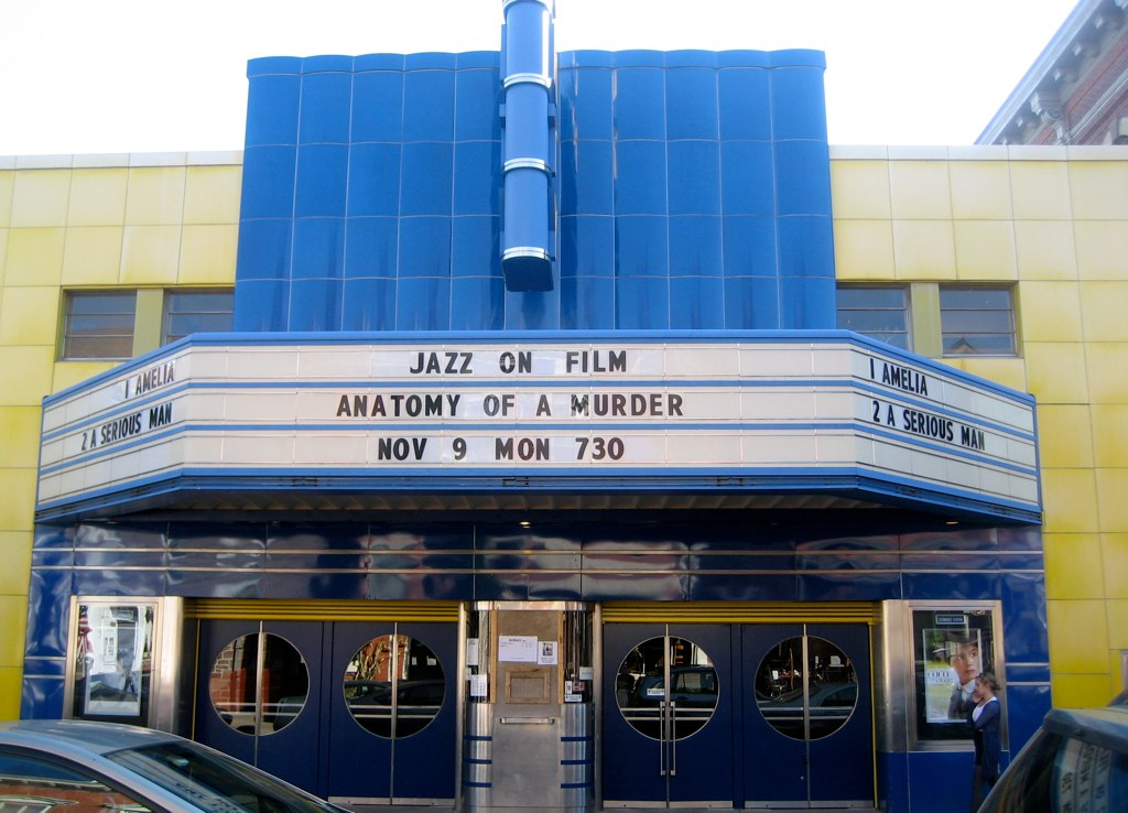 The County Theater Front