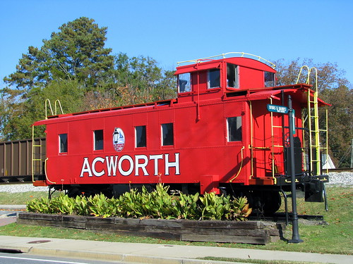 Acworth, GA Caboose