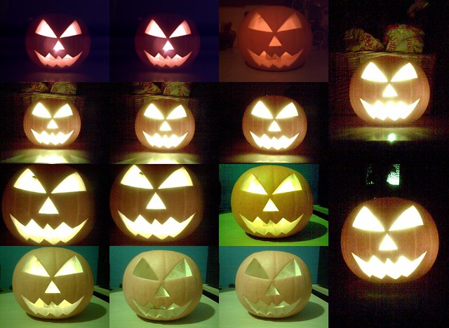 How Not to Photograph a Jack O' Lantern