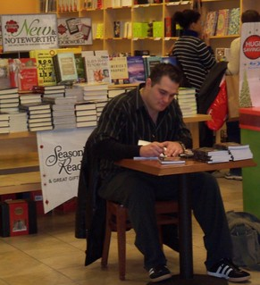 Jason Rapczynski at Borders