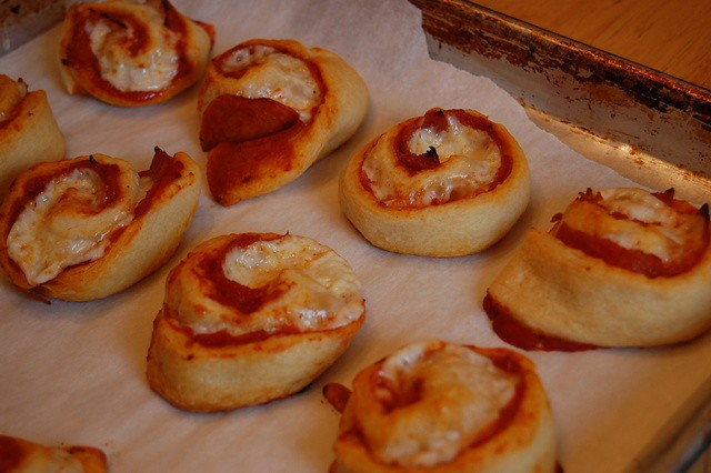 Pizza Pinwheels   Flickr - Photo Sharing!