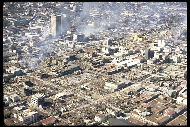 ... de Managua despues del terremoto de 1972 | Flickr - Photo Sharing