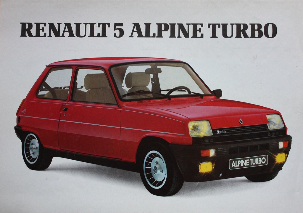 renault 5 alpine turbo a photo on flickriver. Black Bedroom Furniture Sets. Home Design Ideas
