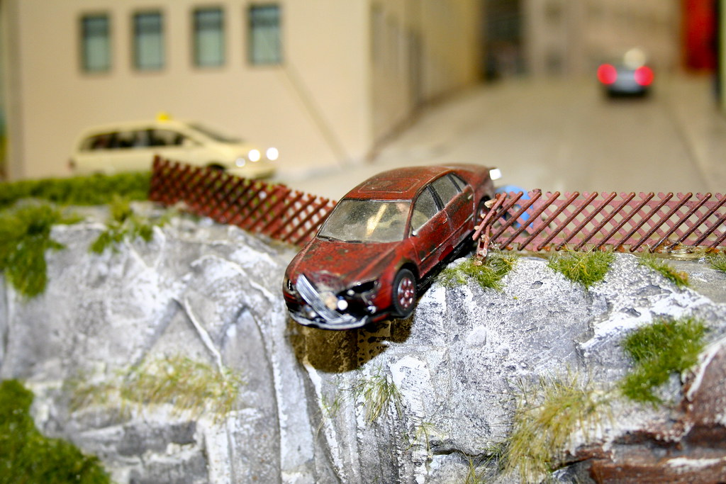 Miniature Car Accident by Andrey Belenko, on Flickr