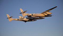 "VSS Enterprise First Flight. The Triumph of Private ""Enterprise"". Photo by Mark Greenberg"